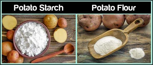 Potato Starch Vs Potato Flour