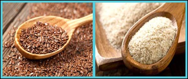 Flaxseed vs Psyllium Husk