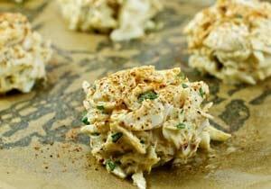 baking crab cakes
