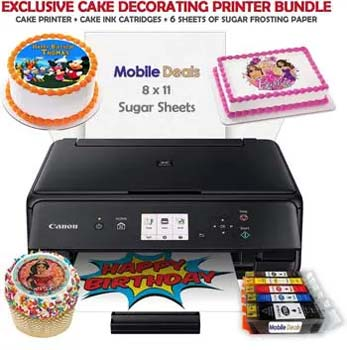 Mobile Deals Tasty Treats and Birthday Cake Topper Image Printer