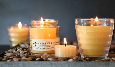 Beeswax Candle beeswax Candles White Beeswax Candles Honeycomb Beeswax Candles Unscented Beeswax Candles