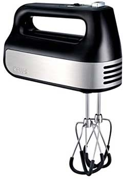 KRUPS Electric Hand Mixer with Turbo Boost