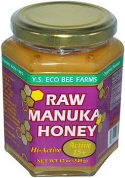 Raw Manuka Honey YS Eco Bee Farms