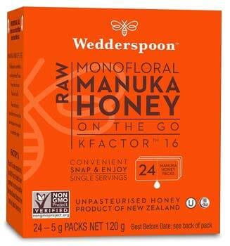 Wedderspoon 100% Raw Manuka Honey KFactor