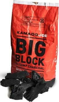 Kamado Joe KJ-Char Big Block XL Lump Charcoal, 20-Pound, Black