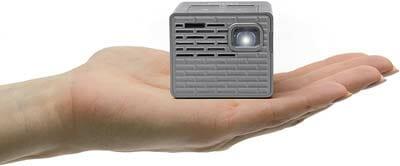 AAXA P2-B LED DLP Mini Cube Cake Decorating Projector