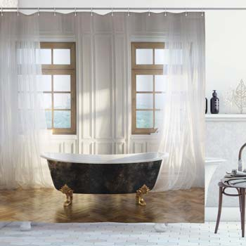 Ambesonne Antique Shower Curtain