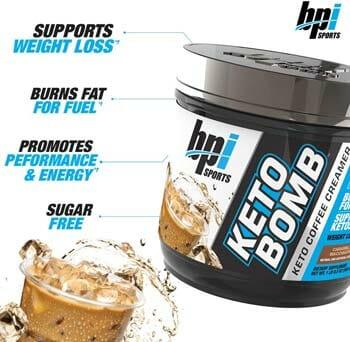BPI Sports Keto Bomb - Diet Coffee Creamer