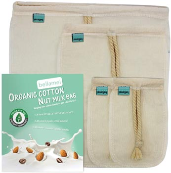 Bellamei Organic Nut Milk Bag