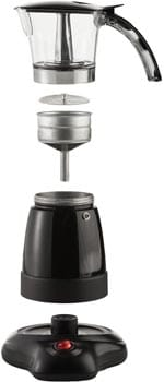 Brentwood Electric Moka Pot