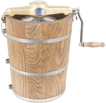Classic Wooden Tub 6 qt. Country Ice Cream Maker