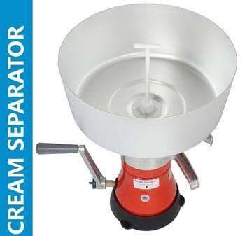 Dairy Milk Cream Separator Manual Hand Crank