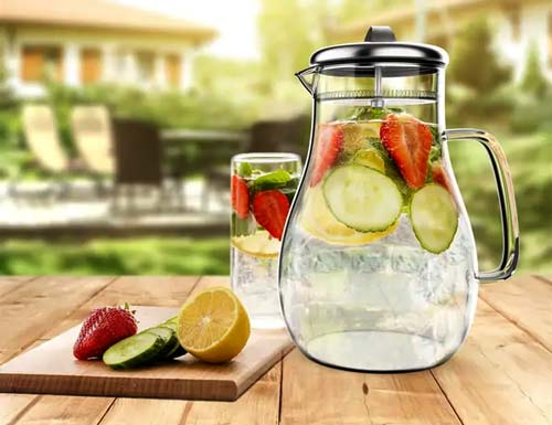 FAQs - Glass Pitcher with Lid