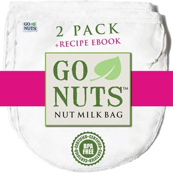 GoNuts 2-PACK Milk Bag