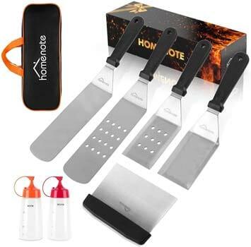 HOMENOTE Griddle Accessories Kit, 7 Pieces