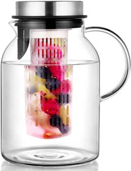 Hiware INPER Fruit Pitcher With Lid