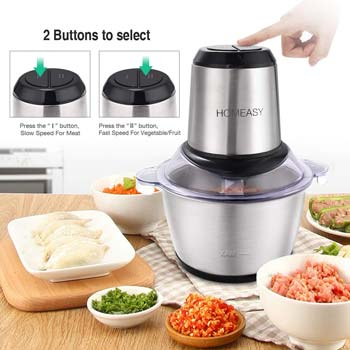 Homeasy Food Processor with Meat Grinder