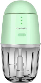 Kocbelle Small Food Processor & Vegetable Chopper, Green