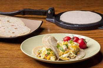 Lodhi's Premium-Grade Cast Iron Tortilla Press