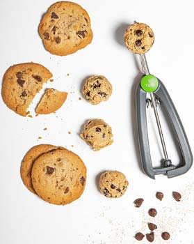 Prep Solutions Quick Release Cookie Scoop