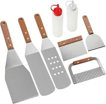 ROMANTICIST Professional Griddle Accessories Kit