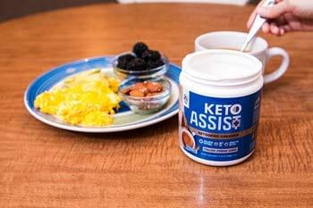 Vaxxen Labs Keto1 Delightful Healthy Coffee Creamer