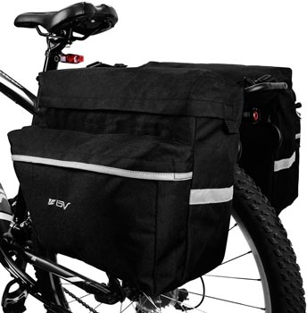 BV Bike Bags Bicycle Panniers with Adjustable Hooks