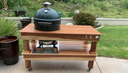 Big Green Egg Table Buying Guide
