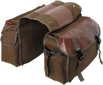 BlueDorado Bicycle Canvas Panniers