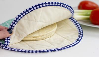 Fabric Tortilla Warmer