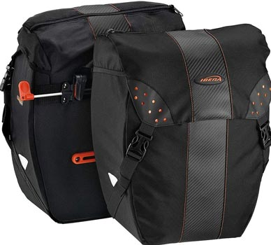 Ibera Bicycle Bag PakRak Clip-On Pannier