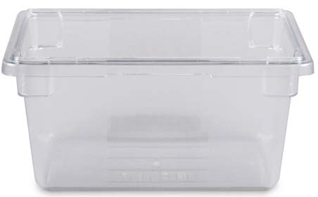 Rubbermaid Commercial Products (FG330400CLR) Food Storage Box
