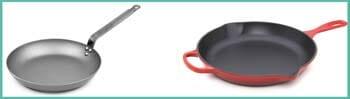 Similarities Between Frying Pan & Skillet