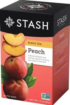 Stash Tea Peach Black Tea