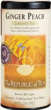 The Republic of Tea Ginger Peach Black Tea