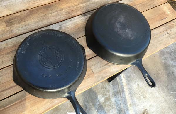 Wagner vs. Griswold Cast Iron