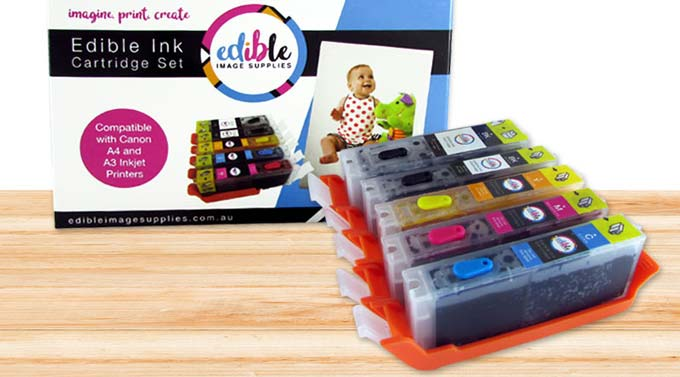 what is edible ink
