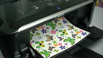 what kind of paper to use to print edible ink