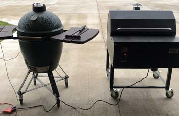 what is the difference between Traeger Grill and Big Green Egg